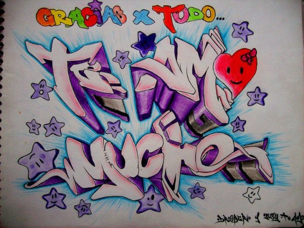 Im,genes,de,Graffitis,con,la,Palabra,te,