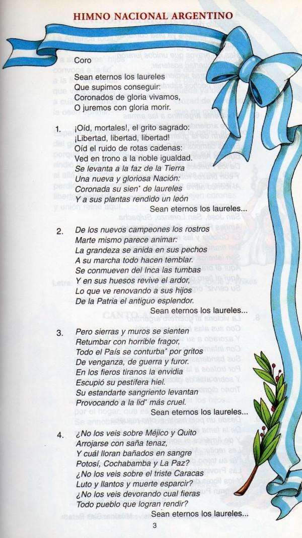 11 de Mayo: Día del Himno Nacional Argentino – Imágenes actual