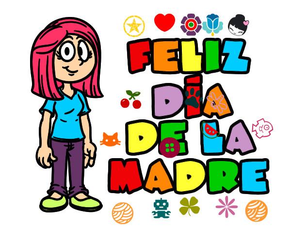 Feliz Personas Exitosas En Caricaturas: Feliz Dia De Las Madres Caricatura