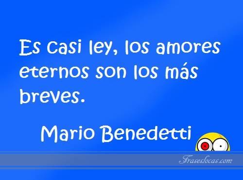 Frases célebres de Mario Benedetti para guardar o compartir