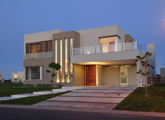 60 bonitas fachadas de casas minimalistas sencillas y modernas - Fotos de casas grandes ...