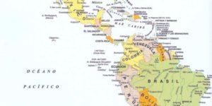 Imágenes de las banderas, mapas, paises y capitales de América del norte, sur y central