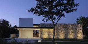 Imágenes de fachadas de casas minimalistas, modernas y de dos pisos
