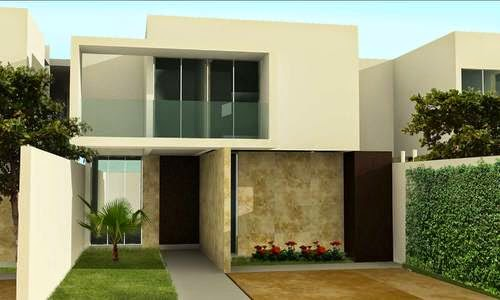 Fachadas de Casas Minimalistas Modernas y de dos Pisos