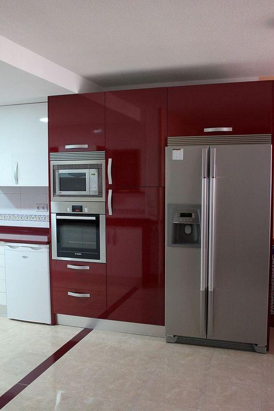 Imágenes con diseños de cocinas modernas tendencias 2018