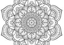 Imágenes De Mandalas A Color Para Colorear Fáciles Y Difíciles