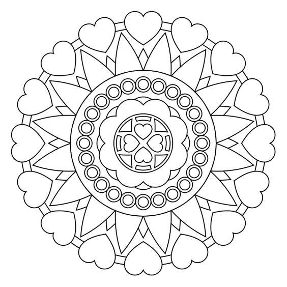 Imágenes De Mandalas Dibujos De Mandalas Para Colorear
