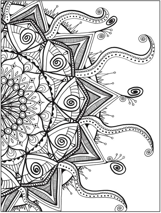 full size coloring pages adults - photo#17