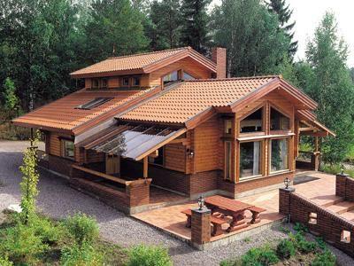 Imgenes de Fachadas de casas de campo muy bonitas