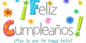 Imágenes con frases y Mensajes bonitos de Felicitaciones para cumpleaños