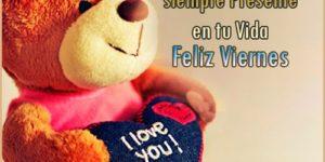 """Imágenes románticas de """"Feliz Viernes Amor"""" para novio, novia o pareja"""
