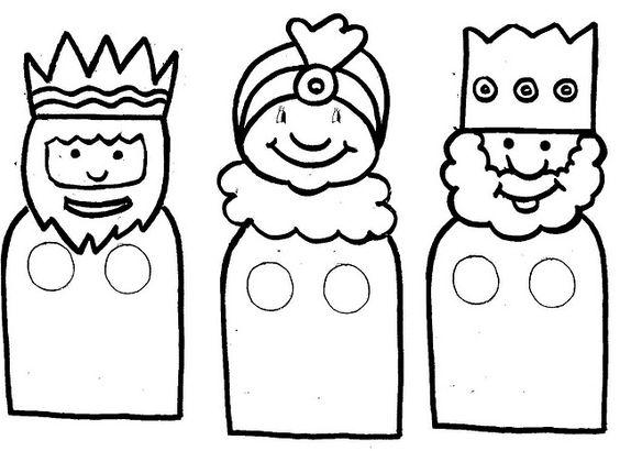 Imágenes Con Dibujos Para El Día De Reyes Magos