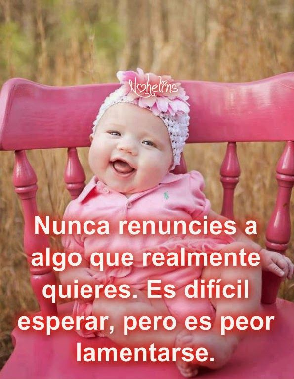 Imágenes De Bebes Con Frases Tiernas Graciosas Y Bonitas