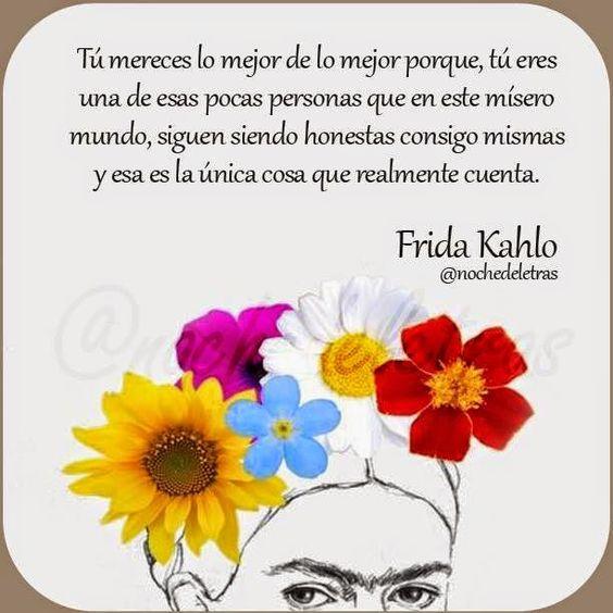 Imágenes de FRIDA KAHLO con Frases Inspiradoras Sobre el