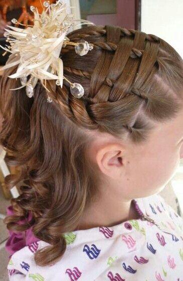 Como hacer peinados de boda para ninas
