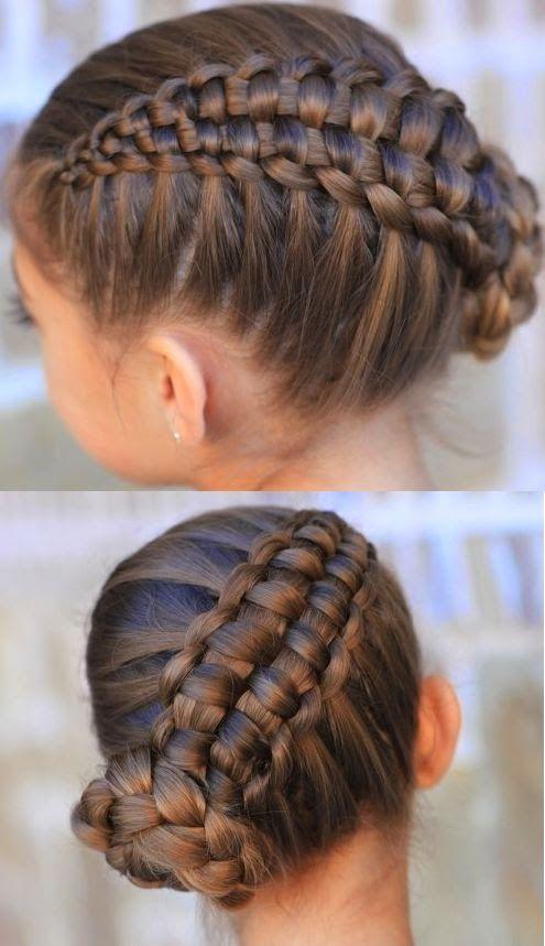Imagenes De Peinados Con Trenzas Para Ninas