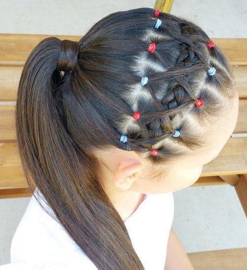 Imágenes De Peinados Con Trenzas Para Niñas