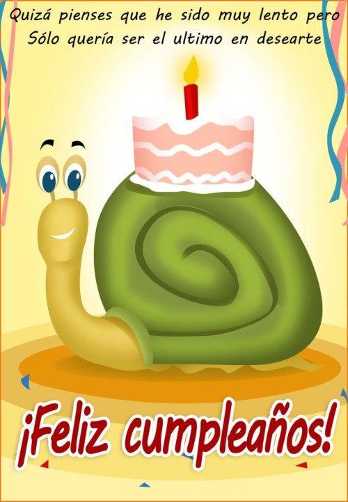 Tarjetas de Cumpleaños ∼ Imágenes y Frases de Feliz Cumpleaños