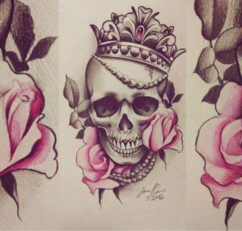 Tatuaje Para Mujer Delicado De Calavera Imágenes Actual