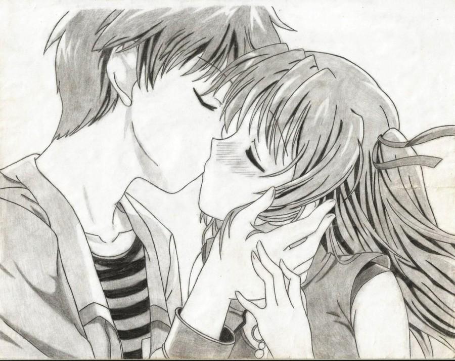 Dibujos Bonitos De Amor Dibujos Románticos Para Pintar