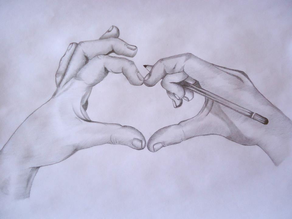 Dibujos Bonitos De Amor Dibujos Romanticos Para Pintar
