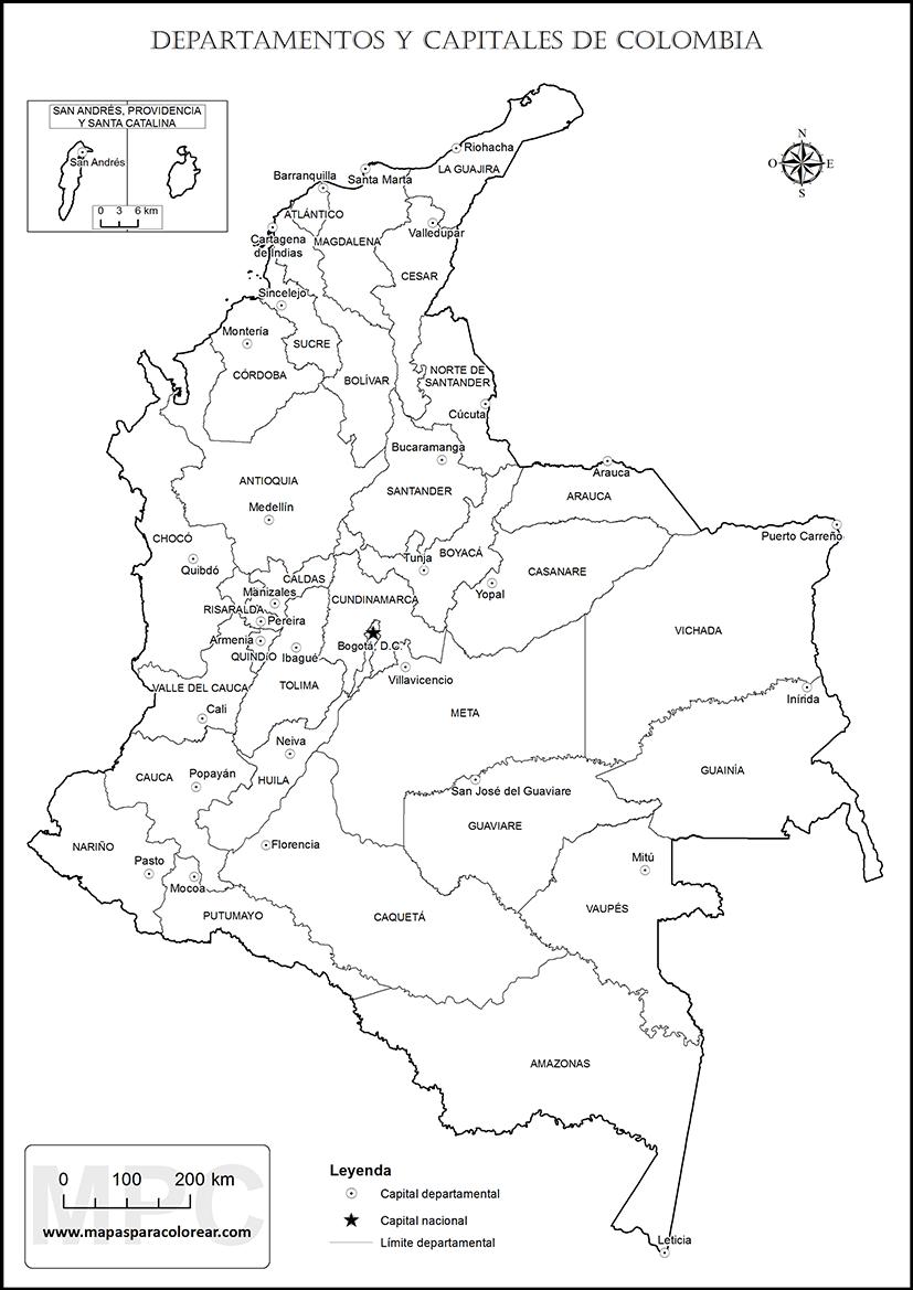 Mapas para Imprimir » Mapamundi, Continentes, Mapas Tematicos y para ...
