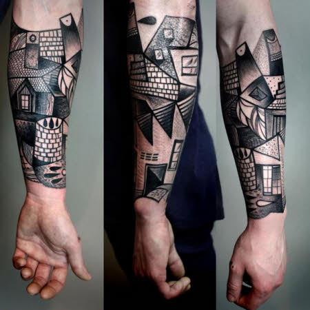 Tatuajes Originales Para Hombres Cheap Tatuaje Moderno De Crneo