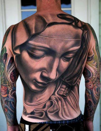 Tatuajes Para Hombres En Espalda Artisticos Imágenes Actual