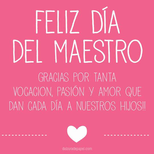 Frases Para Felicitar El Día Del Maestro Imágenes Y Mensajes