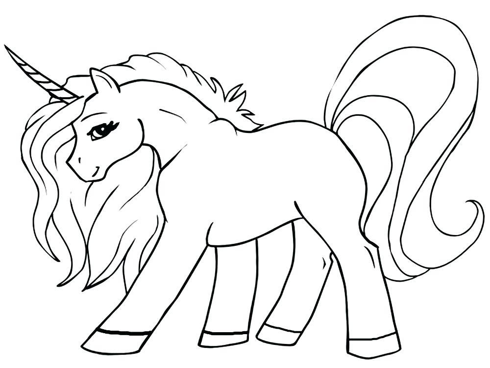 Imágenes De Unicornio Kawaii Para Dibujar Colorear Con