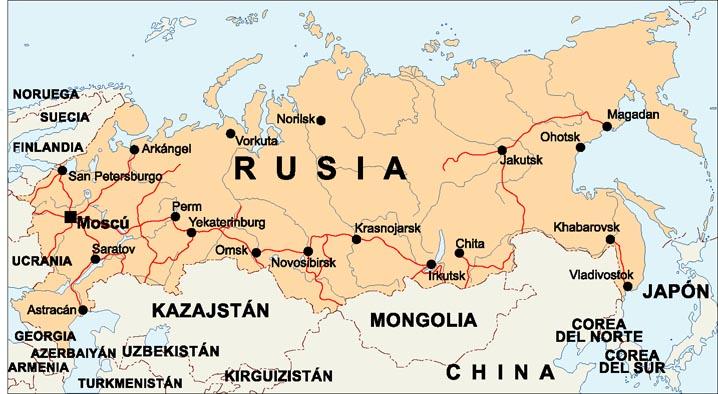 Mapa Politico De Rusia Actual.Imagenes De Rusia Mapas Republicas Bandera Y Escudo De Rusia