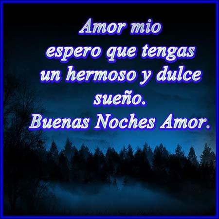 Amor Mio Que Tengas Buena Noche Imagenes Actual