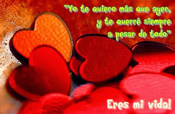 Imágenes De Corazones Con Frases Mensajes Y Palabras De Amor