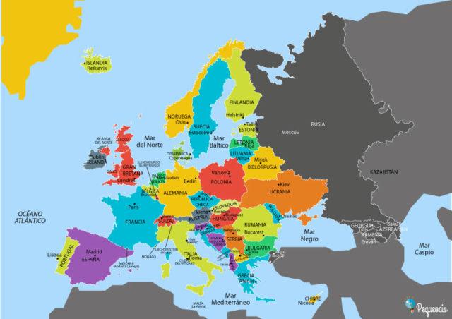Mapas De Europa Imagenes Para Descargar E Imprimir