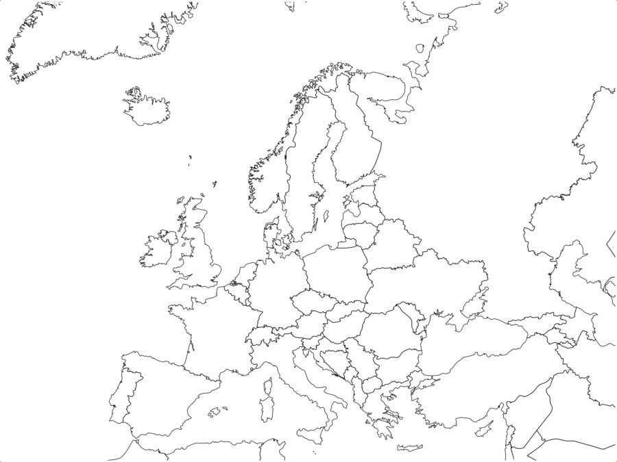 Mapa Mut D Europa.Mapas De Europa Imagenes Para Descargar E Imprimir