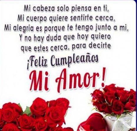 Imágenes Frases Y Tarjetas De Feliz Cumpleaños Amor