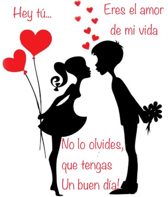 Bonito dia amor te amo
